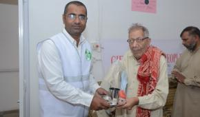 Honour the Elderly: Khalid Khan