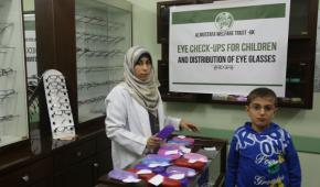Free Eye-Care in Gaza: Fahd Al-Turk