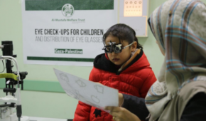 Free Eye-Care in Gaza: Malak Moa'mar