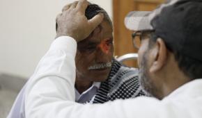 Free eye-care: Basit Ali