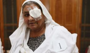 Eye care in Gujjar Khan: Fareeda Salman