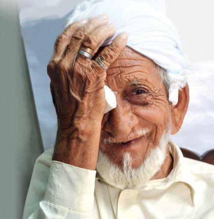 Sadaqa jariyah funds cataract surgery