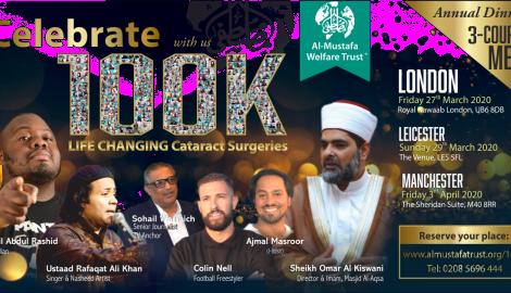 Celebrating 100K Cataract surgeries