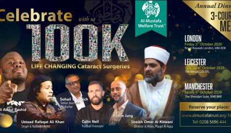 Celebrating 100K Cataract surgeries